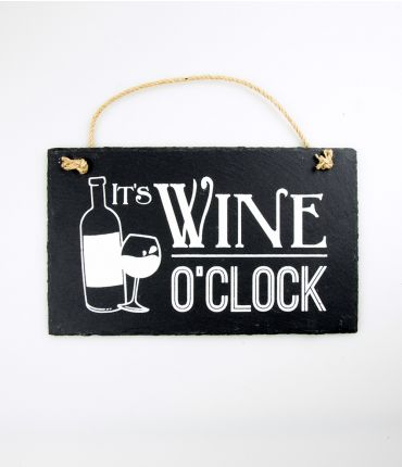 Stone slogan - It´s wine o´clock