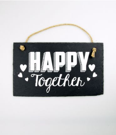 stone slogan happy together